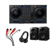 Pioneer DDJ-FLX6 + VM-50 w/ Headphones + Cable