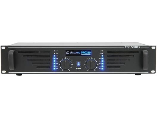QTX Sound PRO240 Power Amplifier Black