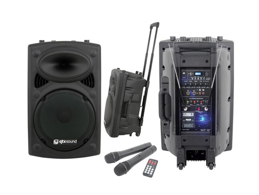 QTX Sound QR15PA Portable PA Speaker