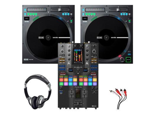 Rane TWELVE MKII (x2) + Pioneer DJM-S11 SE w/ Headphones + Cable