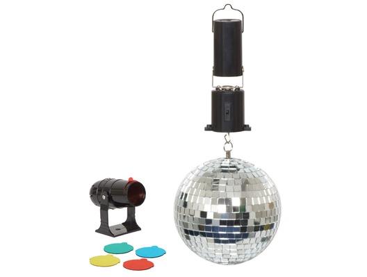 "Cheetah 6"" Mirror Ball Party Set"