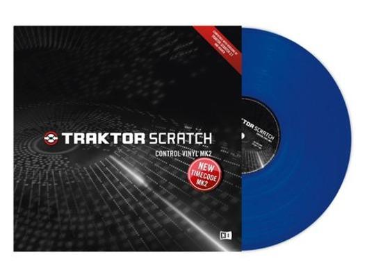 Native Instruments Traktor Scratch Control Vinyl MK2 Blue