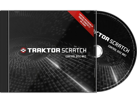 Native Instruments Traktor Scratch Pro Control Disc CD's MK2 Pair