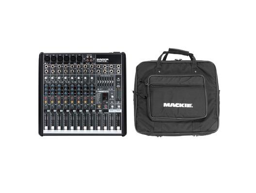 Mackie PRO FX12 Mixer & PRO FX 12 Mixer Bag Package