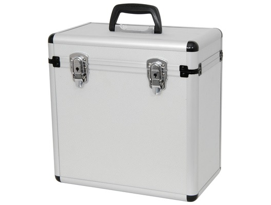 QTX Sound Aluminium LP 50 Case Vinyl Flight Case