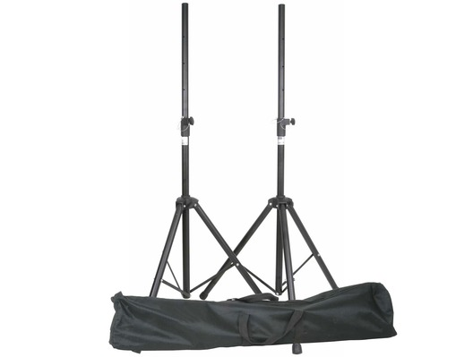QTX Sound Speaker Tripod Stands With Bag