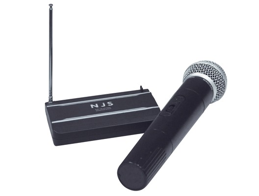 NJS 174.1 MHz VHF Handheld Radio Wireless Microphone System