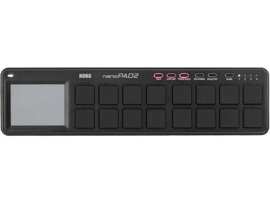 Korg Nanopad Nano Pad 2 Controller USB MIDI Black