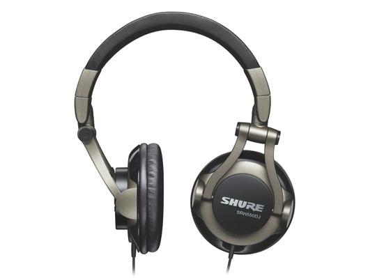 Shure SRH550 DJ Professional Monitor Headphones