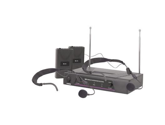 QTX Sound VN2 VHF Dual Headband Microphone System