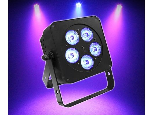 LEDJ Slimline 5Q5 RGBW