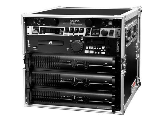 """TIP Total Impact 19"""" 12U Amplifier Deluxe Rack Case - 18"""" Body Depth"""