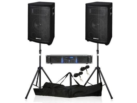 QTX Sound QT6 & PRO240 Black Package