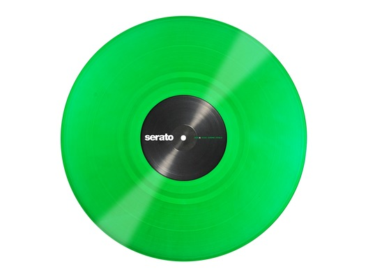 "12"" Control Vinyl Serato Performance Series (Pair) - Green"