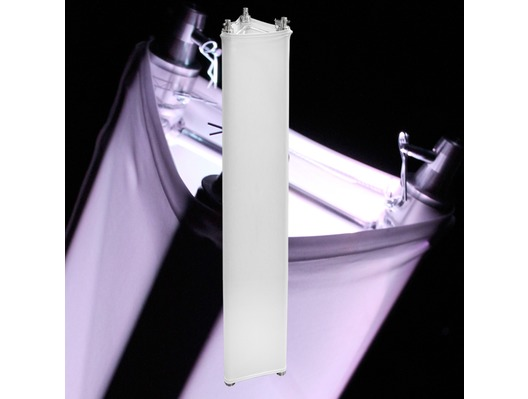 LEDJ White 3m Tri Truss Sleeve