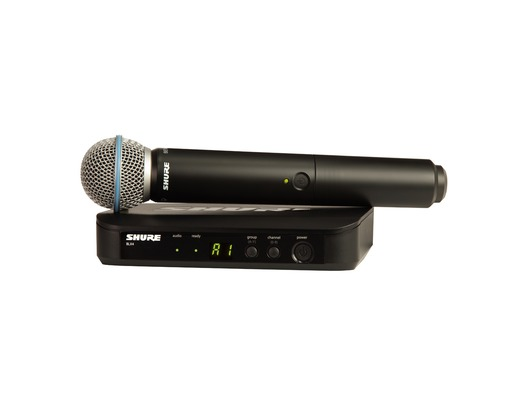 Shure BLX24UK/B58 Handheld Wireless Vocal System