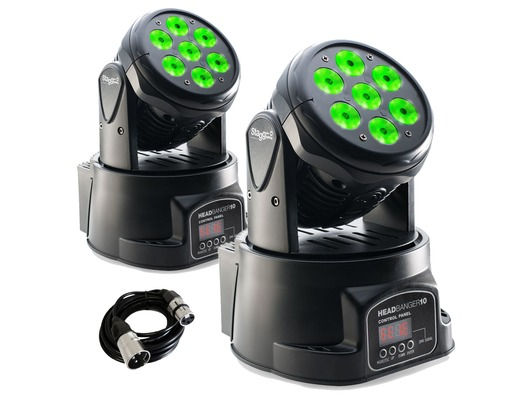 Stagg Head Banger 10 Moving Heads PAIR