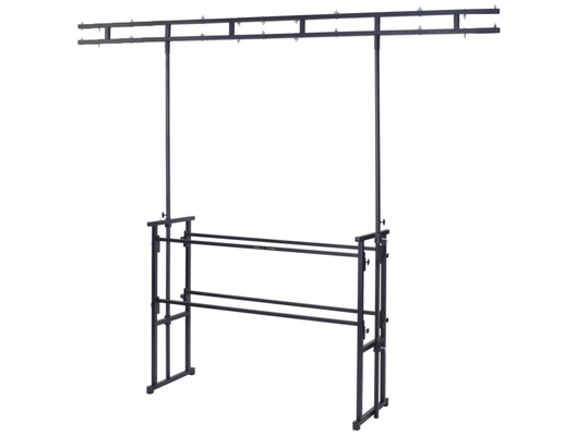 Gorilla GDS-5 Twin Bar Complete 4ft Disco Stand Table