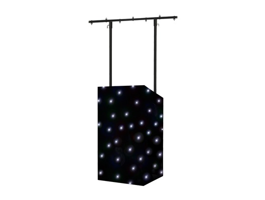 Equinox MICRON DJ Booth LED Starcloth System Black Cloth