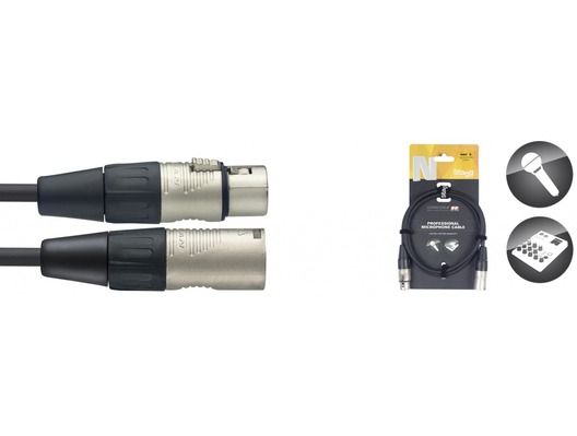 STAGG Professional Cable 6m XLR To XLR Microphone Lead