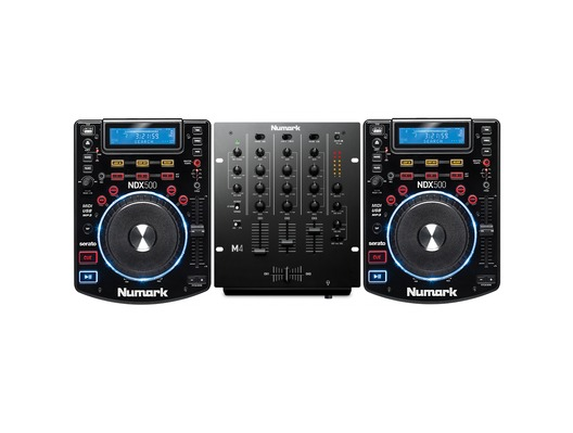 Numark NDX500 & Numark M4 Mixer DJ Package