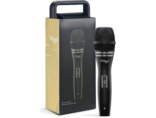 Stagg SDM90 Metal Dynamic Handheld Vocal Microphone