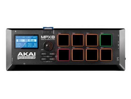 Akai MPX8 SD Sample Pad Controller