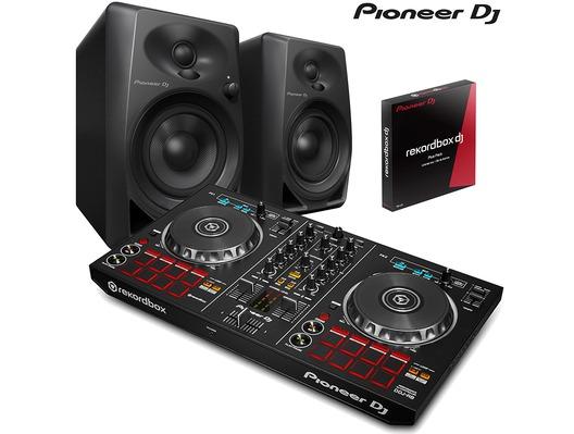 Pioneer DDJ-RB & Pioneer DM-40 Monitors
