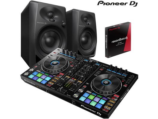 Pioneer DDJ-RR & Pioneer DM-40 Speaker Package
