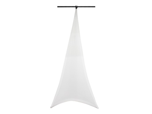 LEDJ White Double Sided Lighting Stand Cover