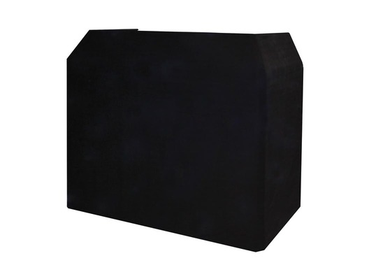 Equinox DJ Booth Booth Black Professional Cloth