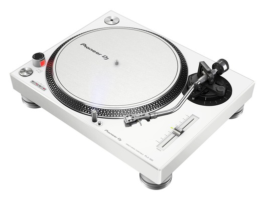 Pioneer DJ PLX-500 White Direct Drive DJ Turntable