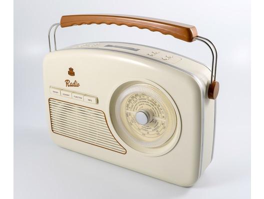 GPO Rydell Nostalgic DAB Radio Cream