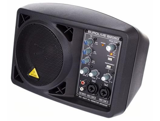 Behringer B205D Powered Monitor PA Speaker