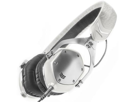 V-Moda XS White Silver Headphones