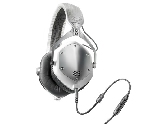 V-Moda Crossfade M-100 White Silver Headphones