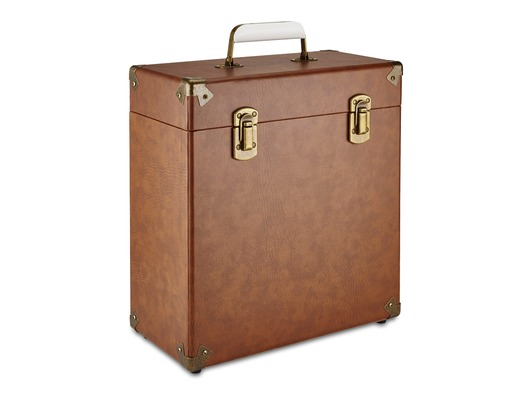 "GPO 12"" Vinyl Case Brown"