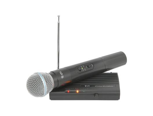 QTX VH45B Handheld Compact VHF Wireless Mic System