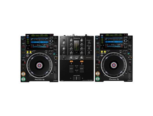 Pioneer CDJ-2000 NXS2 & DJM-250MK2 Mixer Package