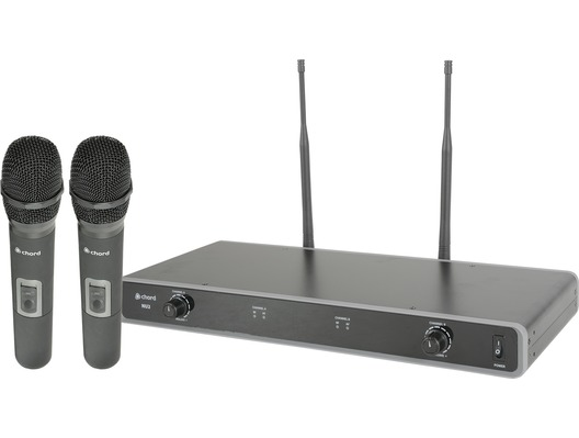 Chord NU2-H Dual UHF Wireless Handheld Mic System