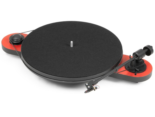 Pro-Ject Elemental Phono USB (Red) Turntable