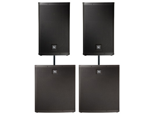 Electro-Voice ELX115P Speakers & ELX118P Subs Package