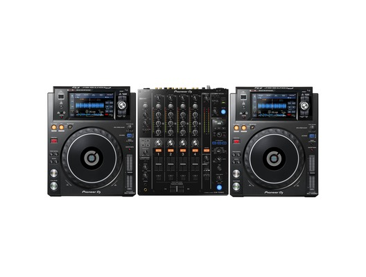 Pioneer XDJ-1000 MK2 and DJM-750 MK2 Package