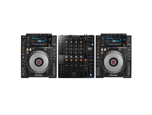 Pioneer CDJ 900 Nexus and DJM-750 MK2 Package