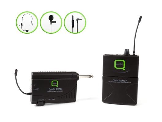 Q-Audio QWM-1900 BP UHF Wireless Microphone