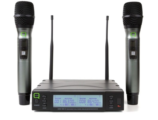 Q-Audio QWM 1960 V2 HH Wireless Microphone System