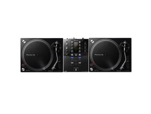Pioneer DJ PLX-500 & DJM-S3 Turntable Package