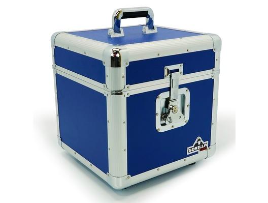 "Gorilla GC LP100 BLUE 12"" Vinyl Record Box"