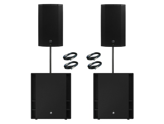 Mackie 2x Thump 12A V4 Speakers & 2x Thump 18S Subs Package