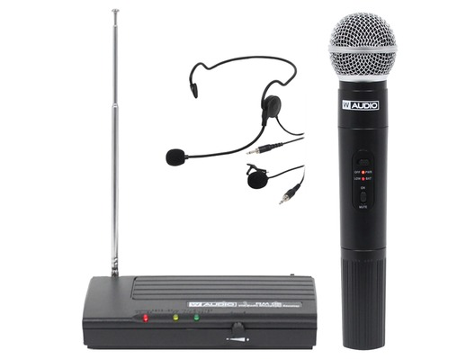 W Audio RM 05 VHF Microphone System MKII